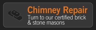 Chimney Repair | Turn to our certified brick & stone masons